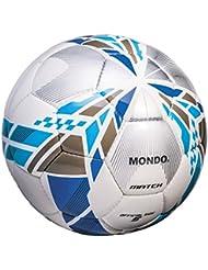 Mondo Kaleidos, Pallone Unisex – Adulto, Bianco/Azzurro, 5