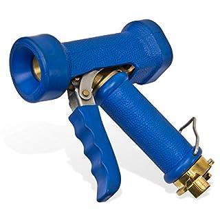 Stabilo-Sanitaer Reinigungspistole EPDM Mantel Waschbrause Waschpistole Reinigungsbrause mit Schlauchkupplung Klauenkupplung Bajonettkupplung