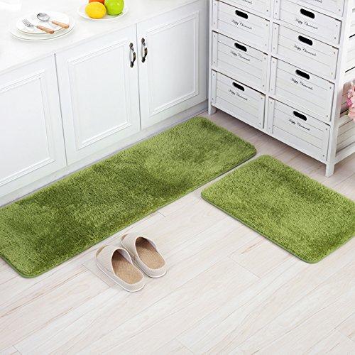Tappetini da bagno di alta qualità tappetini cucina tappetini da bagno tappeti stuoie assorbenti Zerbini (1.5 Pvc Slittamento)
