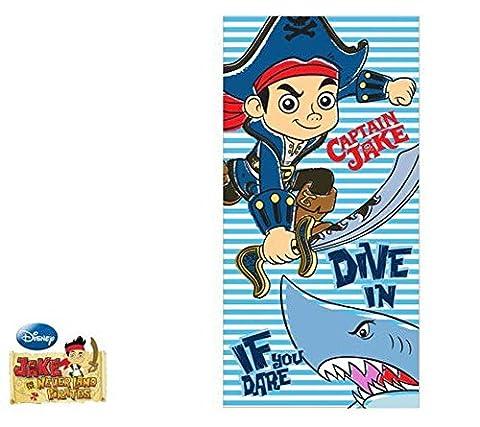 Disney Jake et les pirates du Pays imaginaire Drap de Douche 70x 140cm serviette de plage (9481)