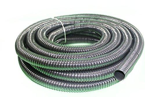 HeRo24 Teichschlauch Spiralschlauch für Bachlauf und Teiche 32 mm 20 m Lang Pro Meter € 1,75