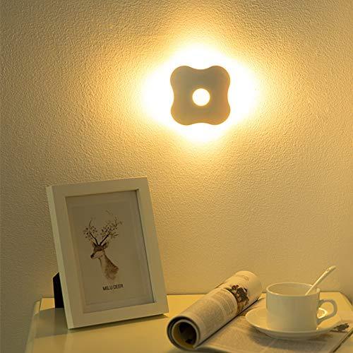 PDDXBB Vier Kleeblatt Led Nachtlicht Menschlicher Körper Control Sensor Licht Korridor Wand Kleiderschrank Nachttischlampe 97 * 91 * 41 (Mm Lade (Ladung) -