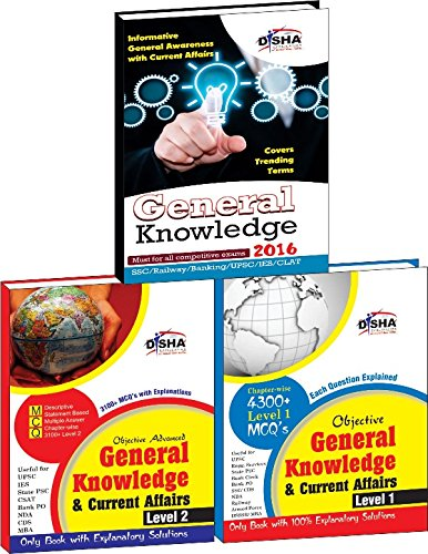 Objective General Knowledge & Current Affairs Level 1 & 2 with Current Update for UPSC/ IES/ State PCS/Bank Clerk/PO/SSC/Railways/Armed Forces/DSSSB/MBA