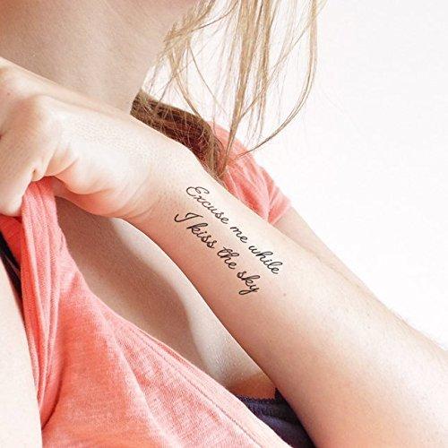 Donde Comprar Tatuajes Temporales Frases Tienda Online