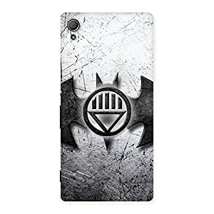 Stylish Black Knight Shade Back Case Cover for Xperia Z3 Plus