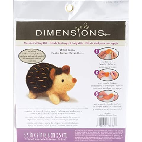 Dimensions Hedgehog Needle Felt Kit,