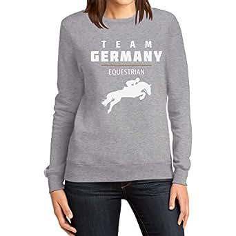 Pferde Springreiten Team Germany – Olympia Fanmotiv Frauen Sweatshirt