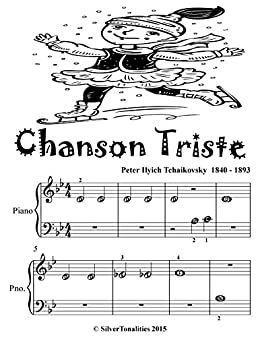 Chanson Triste Beginner Piano Sheet Music Tadpoole Edition