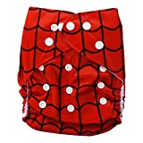 Baby Bucket All-In-One Bottom-bumpers Cloth Diaper (Red)