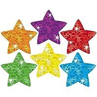 1000 Sparkle Stars Teacher Reward Stickers - 10 Sheets - Ideal for reward charts