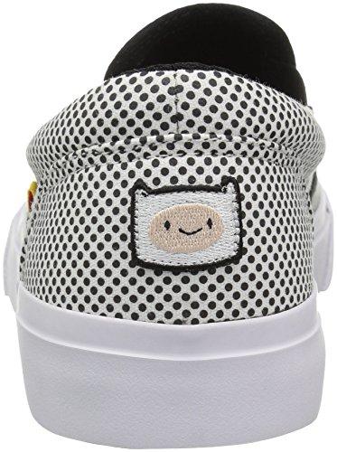 Skate Chaussures Dc Wr6w0ixq White On Slip Trase Femmes Black X r8wrz