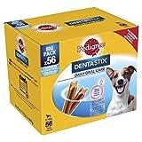 Pedigree Dentastix Premios para Perros Pequeños de Higiene Oral Uso Diario - Pack de 8 x 7 palos - Total