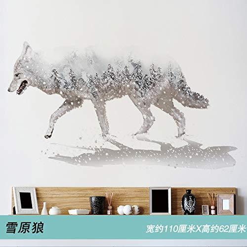 lsaiyy Selbstklebende 3D-Wandtattoos für Schlafzimmer -