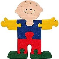 Puzzle bois 3D enfants. Puzzle prince enfant 3D en bois 1OO% hêtre. Fabriqué en Europe