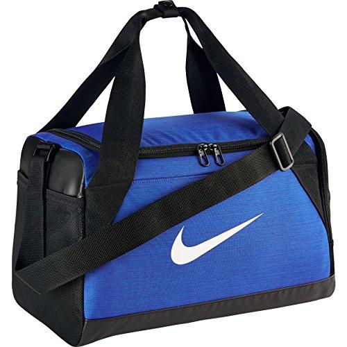 Nike NK Brsla XS Duff Sporttasche für Herren, Blau (Game Royal / Black / White), ?nica