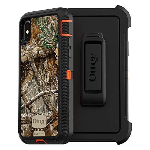 OtterBox Defender Series Schutzhülle für iPhone X, Realtree Edge (Blaze Orange/Black/Rt Edge Graphic