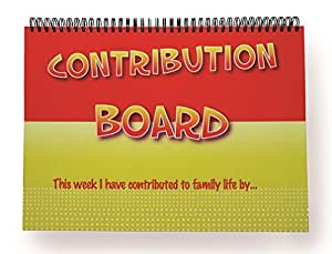 The Contribution Board - Family Team Work Tool (Sticker Chart)