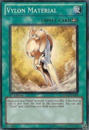 Vylon-deck Yu-gi-oh (Yu-Gi-Oh! - Vylon Material - Hidden Arsenal 5 - Unlimited - Super Rare [Toy])