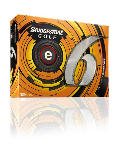 bridgestone-distanzball-e6-bolas-de-golf-de-distancia-color-weiss-talla-talla-unica