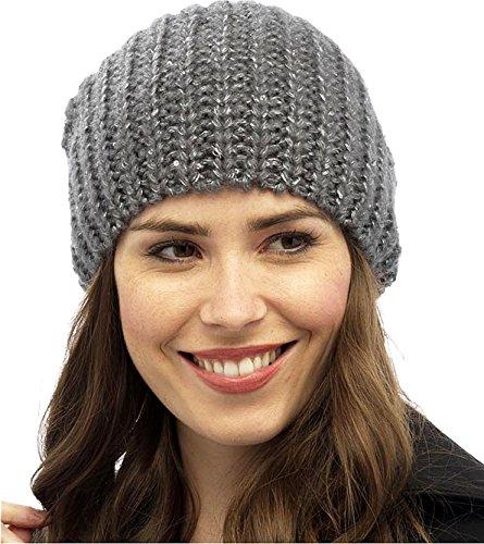 Primo Hats - Bonnet - Femme Gris foncé