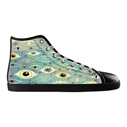 Dalliy augen muster Men's Canvas shoes Schuhe Lace-up High-top Sneakers Segeltuchschuhe Leinwand-Schuh-Turnschuhe D