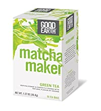Good Earth Matcha Maker Green Tea, 18 Count Tea Bags (Pack of 6)