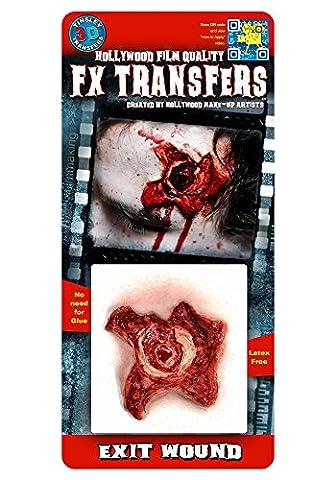 Sortez la blessure - Transferts Tinsley - Tatouages ??de Hollywood .