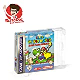 10 Klarsicht Schutzhüllen für Game Boy Advance Games in Originalverpackung - Passgenau und Glasklar - PET - Retro-Doc Game Protectors - Game Boy Advance OVP - Protector - Box