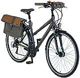 Prophete Damen Fahrrad  Alu Trekking 28 Zoll Entdecker 6.01, anthrazit, M, 54506-1111