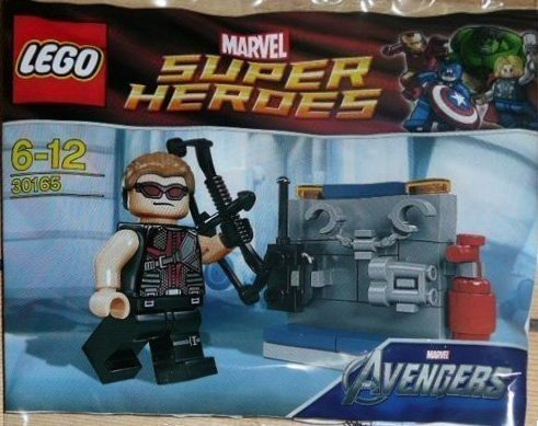 LEGO Super Heroes: Hawkeye with Equipment Set 30165 (Bagged) by