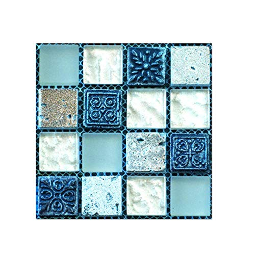 Pegatinas Pared 10x10cm 20 pc Piso Azulejo Auto-Adhesivo