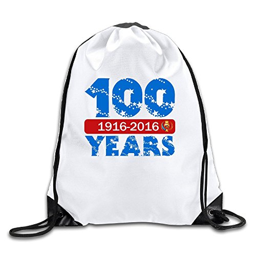 Bekey Fashion Copa America 100TH year 2016Sackpack bianco Dimensioni