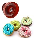 Momangel DIY Donut Maker Ausstechform Desserts Bäckerei Backen Plätzchen Form multi