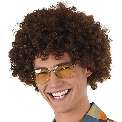 TH-MP Pilotenbrille Sonnenbrille 70er 80er Jahre Outfit Kostüm Zubehör Accessoire Unisex ()