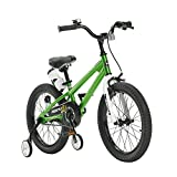Royal Baby Kinder Freestyle Steel Kinderfahrrad, Grün, 18 Zoll