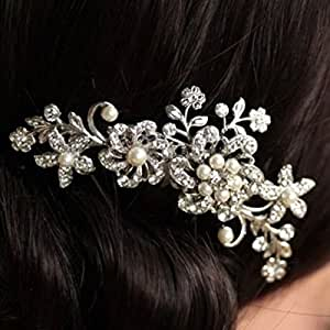Feichen Braut/Brautjungfer Haar-Kamm-Hochzeits-Frauen Haarkämme Tiara
