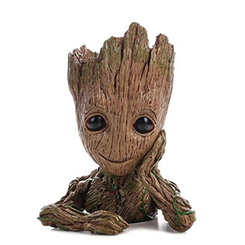 lumentopf - Marvel Action-Figur aus Guardians of The Galaxy für Pflanzen & Stifte ()