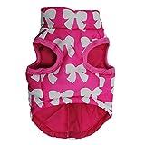 Bayliney_Haustier Hund Winter Mantel Katze Jacke Lieferungen Kleider Bekleidung HüNdchen KostüM(Pink,XS)