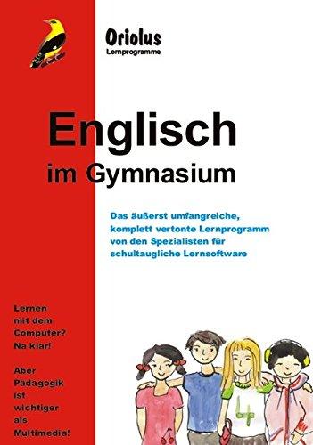 Englisch im Gymnasium - Schullizenz für PC 5 Jahre, unpdatefähig: Das umfassende Lernprogramm für das Gymnasium - für Windows 7-10ff und Netzwerk