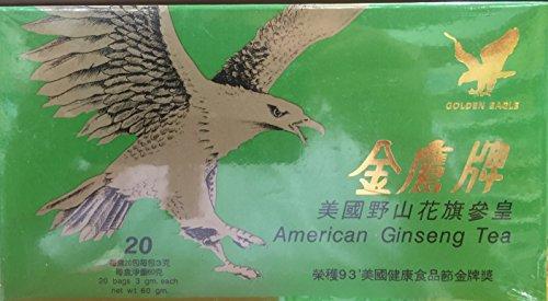 Golden Eagle ginseng americano té (20 sobres x 3 g) 60 g
