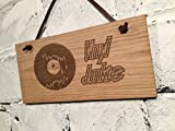 Record Vinyl LP Single Schild.