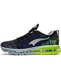 Onemix Air Laufschuhe Herren Damen Straßenlaufschuhe Sneaker mit Luftpolster Turnschuhe Sportschuhe