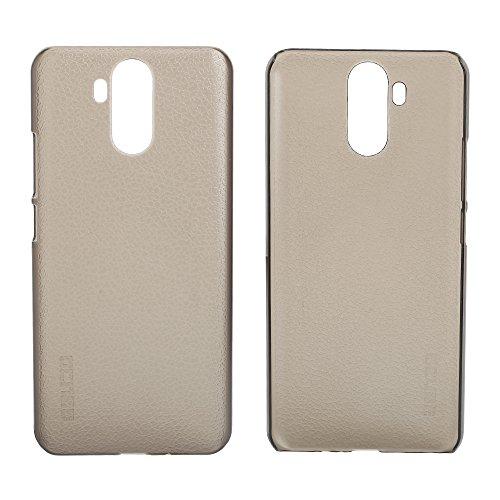 Easbuy Handy Hülle Hard Case Etui Tasche für Ulefone Power 3 / Ulefone Power 3S Cover Handytasche Handyhülle Schutzhülle (Clear Grau)