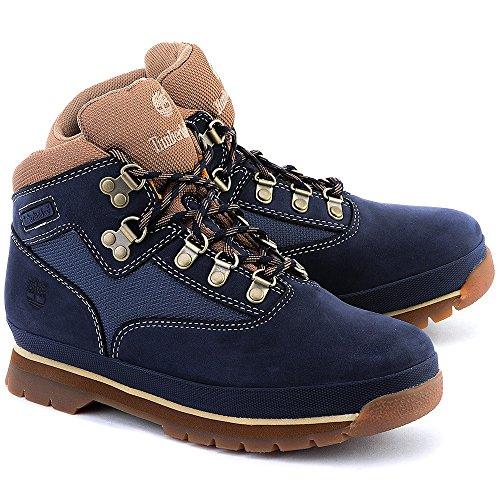 Timberland Euro Hiker - Bottes Enfant - Leather bleu Modèle 39 2015