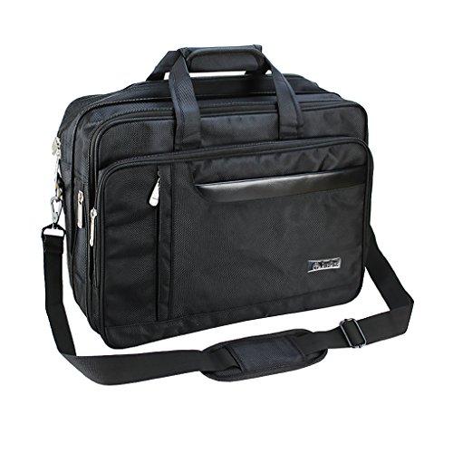 Herren Business Laptop Tasche Notebooktasche Umhängetasche Klassischen Reisen Aktenkoffer Schultertasche Messenger Handtasche für 15,6 16 Zoll Computer Laptop (Werden D-leder-satchel &)