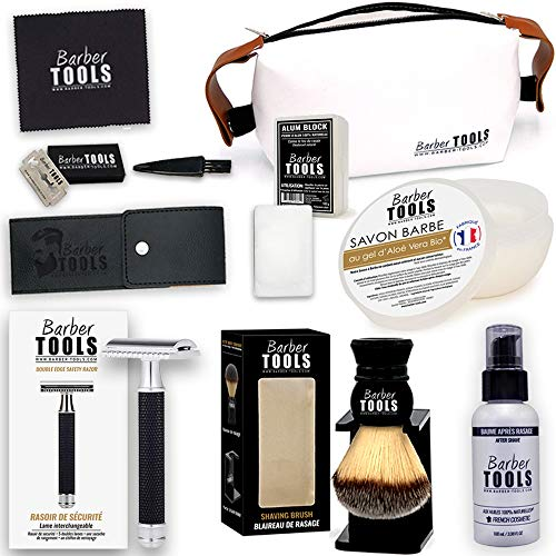 BARBER TOOLS  Kit de rasage...