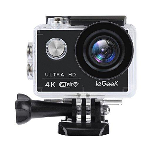ieGeek Action Camera 4K 16MP Bic...