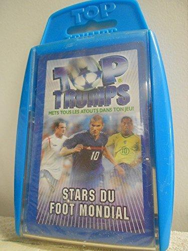 TOP TRUMPS : Jeu d'atout : STARS DU FOOT