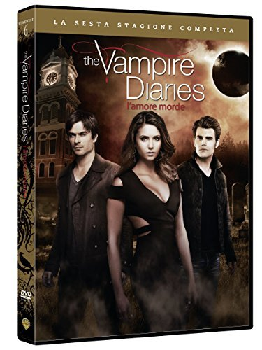 the vampire diaries - season 06 (5 dvd) box set DVD Italian Import by ian somerhalder (Set Diaries Vampire Box)