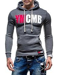 BOLF Herren Kapuzenpullover Sweatshirt Pullover YMCMB OFFICIAL 602